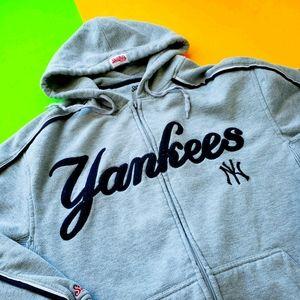 Vintage New York Yankees zip up hoodies sweater